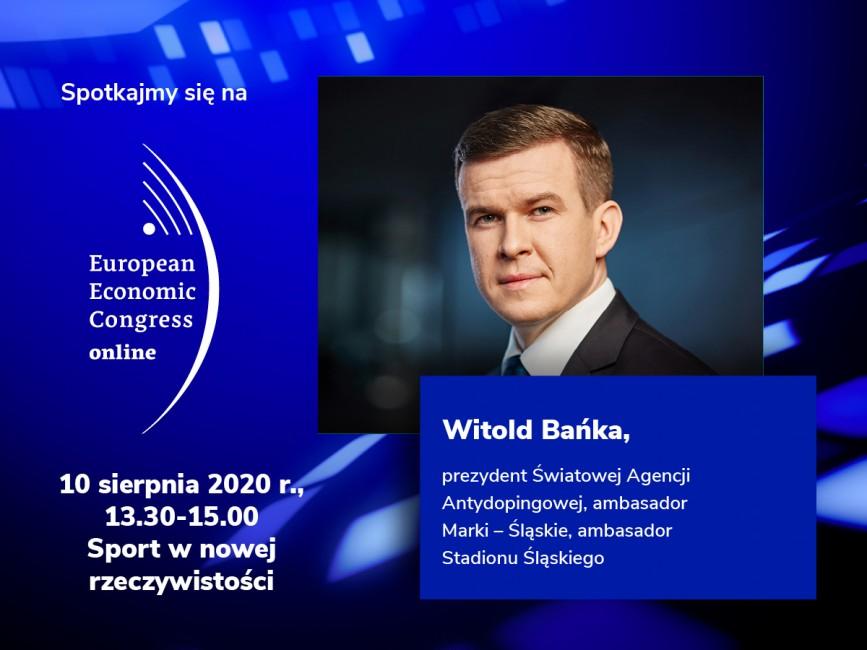 W.Bańka, zaproszenie na panel w ramach EEC Online