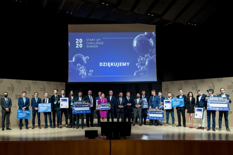 Zdjęcie do wiadomości: Najlepsze startupy wyróżnione nagrodą marszałka