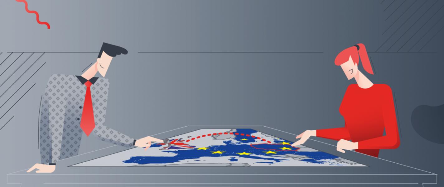 grafika, postacie 2 i mapa europy