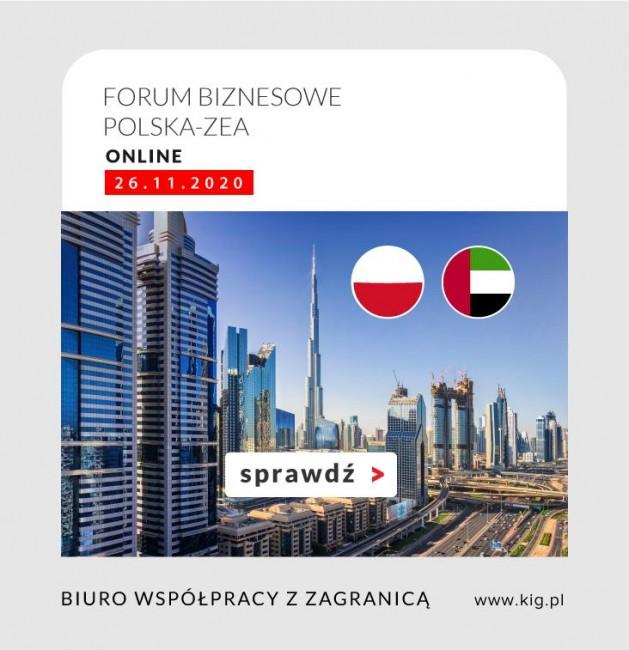Forum biznesowe Polska - ZEA