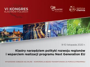 zaproszenie na KONGRES Klastrów , grafika