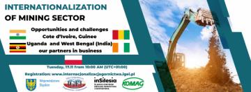 .zaproszenie na konferencję Internacjonalizacja górnictwa .17.11.2020
