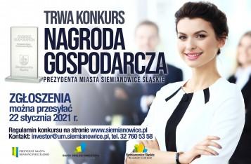 nagroda gospodarcza prezydenta miasta Siemianowice Śl.