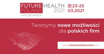 plansza zapraszająca do udziału w wydarzeniu Future Health Polan
