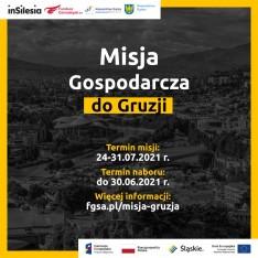 zaproszenie do udziału w misji do Gruzji
